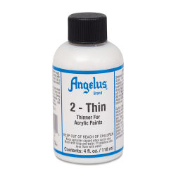 Angelus Leather Medium - 2-Thin Leather Paint Thinner, 4 oz