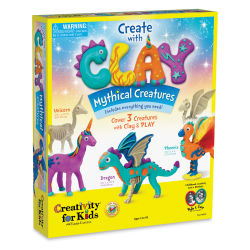 Faber-Castell Creativity for Kids Create with Clay - Mystical Creatures