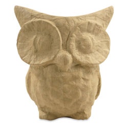 DecoPatch Small Paper Mache Animal - Owl