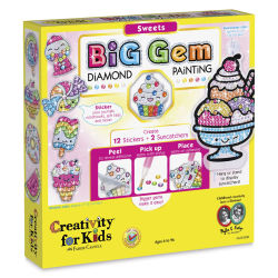 Faber-Castell Big Gem Diamond Painting Set - Sweets