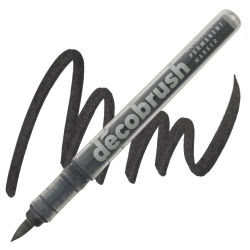 Karin DécoBrush Metallic Marker - Metallic Black