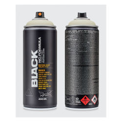 Montana Black Spray Paint - Face, 400 ml can