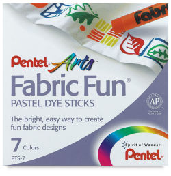 Fabric Pastels, Set of 7