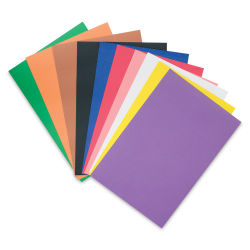 RiteCo Construction Paper - Assorted Colors, 12'' x 18'', 50 Sheets
