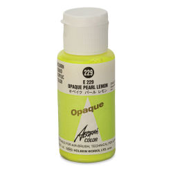 Holbein Aeroflash Liquid Acrylic - 35 ml, Opaque Pearl Lemon