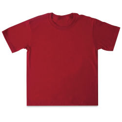 First Quality 50/50 T-Shirts, Youth Sizes - Red Large (14-16)