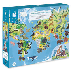 Janod Educational Puzzle, Endangered Animals