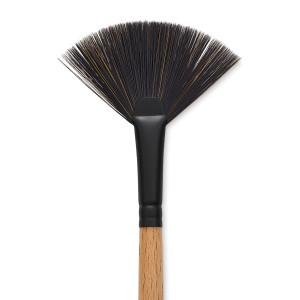 Princeton Catalyst Polytip Bristle Brush - Fan, Long Handle, Size 6