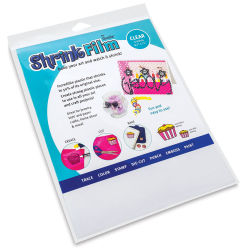 Grafix Shrink Film - 8.5'' x 11'', Shrink Film, Clear, 6 Sheets