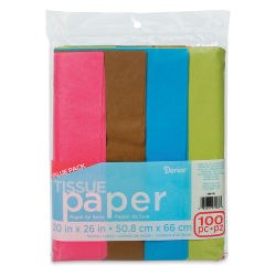 Darice Tissue Paper - Fashion Colors, 100 Sheets, 20'' x 26''