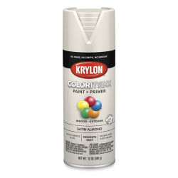 Krylon Colormaxx Spray Paint - Almond, Satin, 12 oz