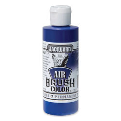 Jacquard Airbrush Paint - 4 oz, Transparent Blue