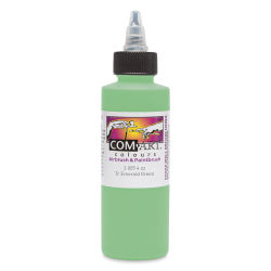 Iwata Com-Art Airbrush Color - 4 oz, Transparent Emerald Green