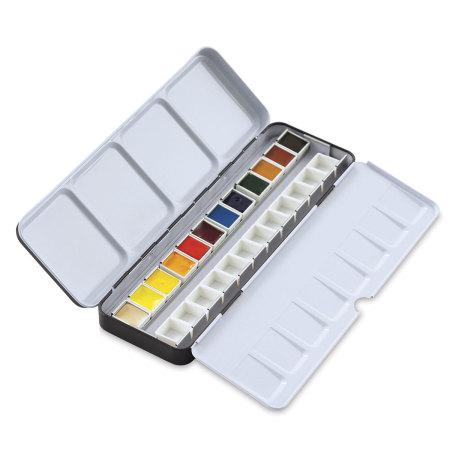 Daniel Smith Watercolor Half Pan - Raw Sienna Light