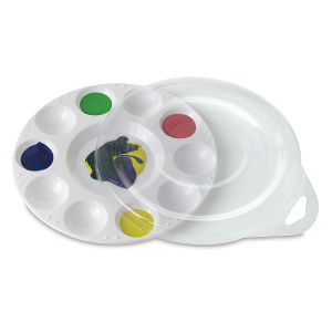 10 Well Plastic Tray 6¾'' Diameter