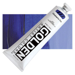 Golden Heavy Body Artist Acrylics - Ultramarine Blue, 5 oz Tube