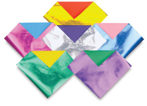 Two-Sided Origami Paper-Foil