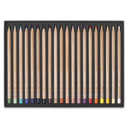 Caran d'Ache Luminance Colored Pencils - Portrait Colors, Set of 20