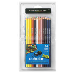 Prismacolor Scholar Art Pencil Set - Assorted Colors, Set of 24