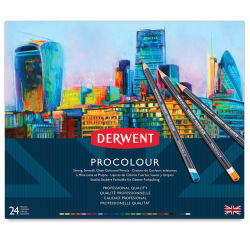 Derwent ProColour Colored Pencils - Set of 24