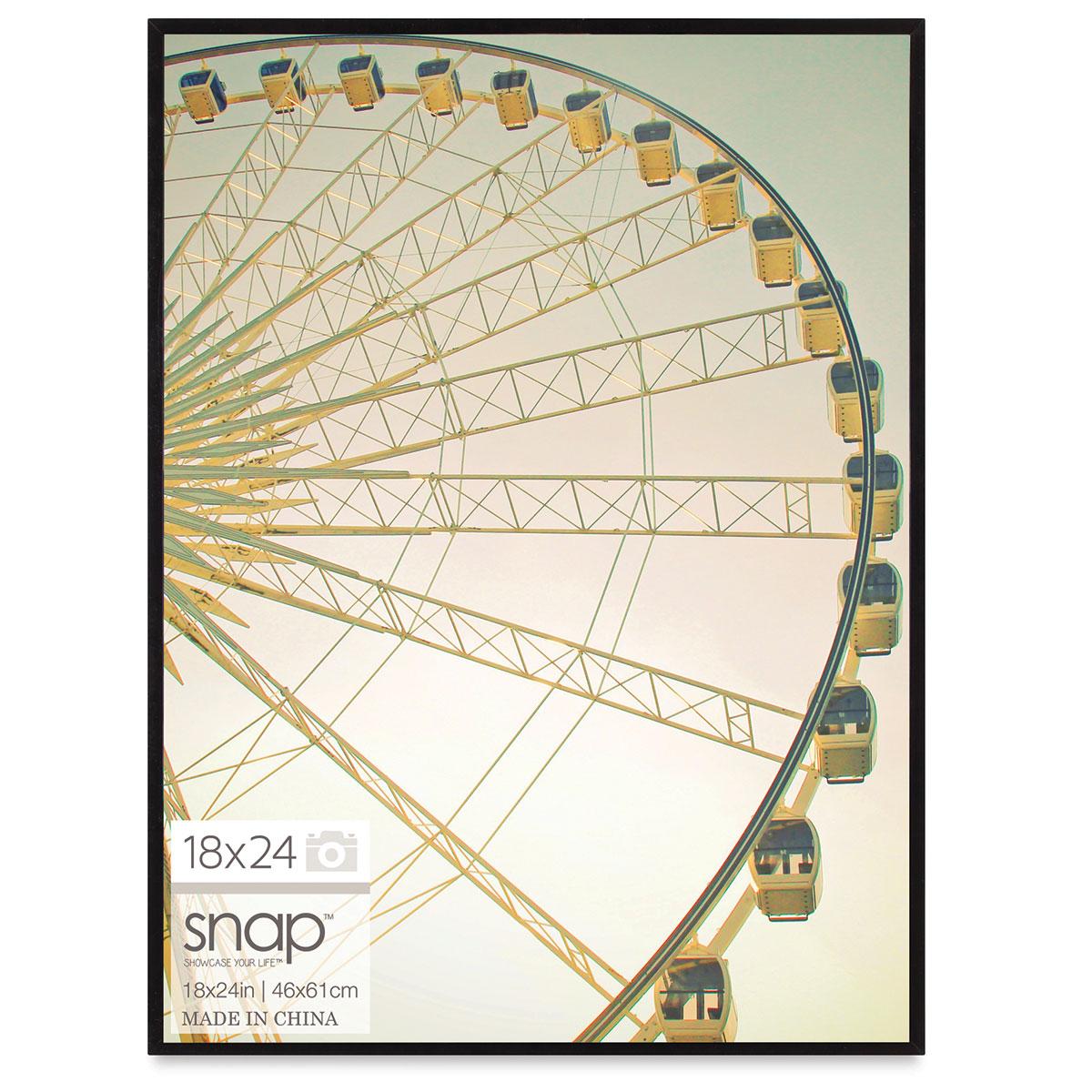 Nielsen Bainbridge Snap Poster Frame - Black, 18 x 24