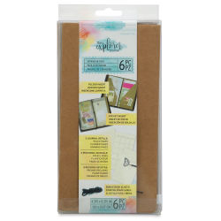 Momenta The Explorer Journal Assorted Journal Inserts - Pkg of 6
