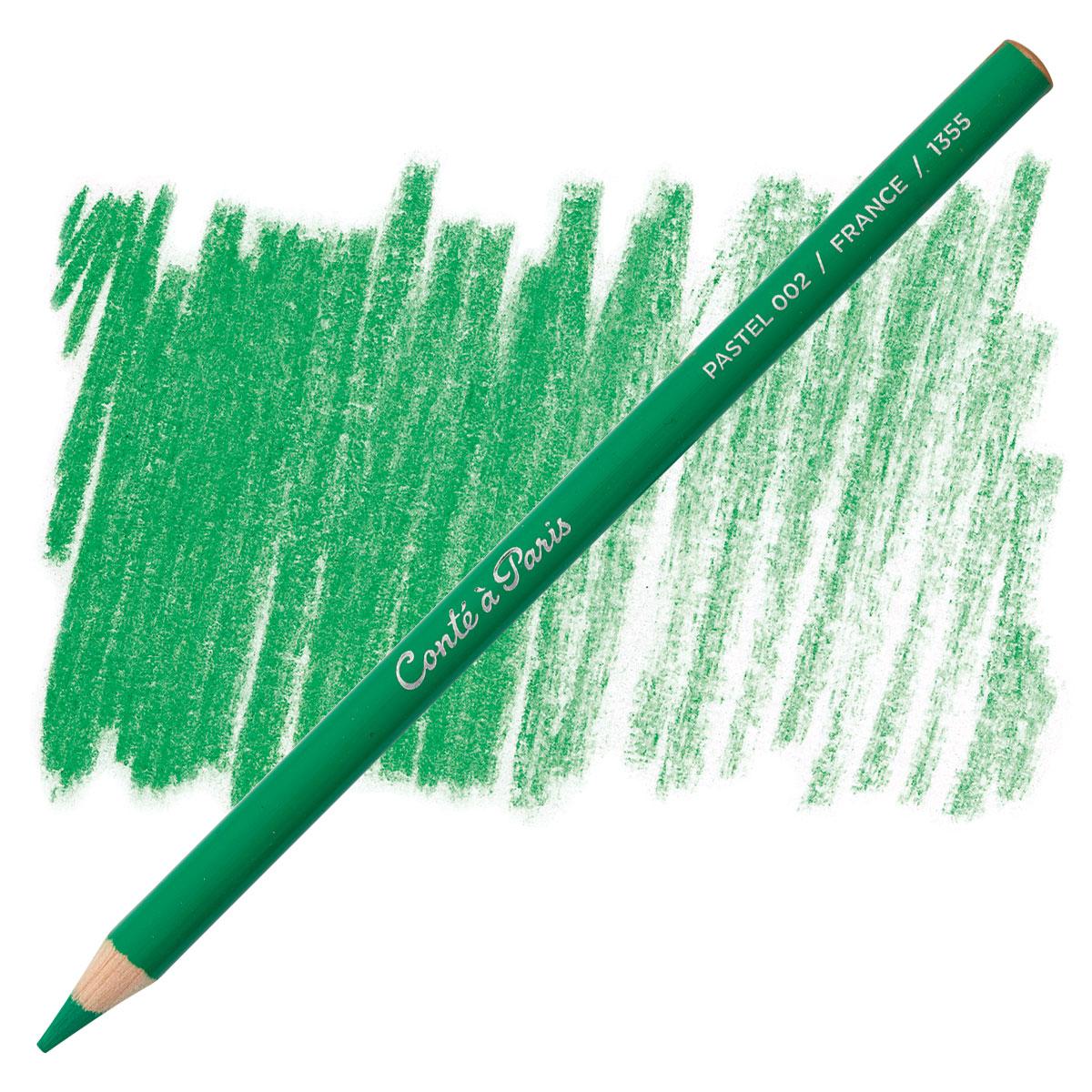 Conte pastel crayon St Michael Green 44