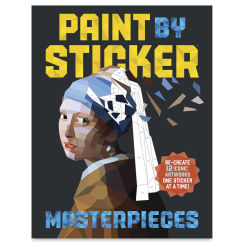 Paint By Sticker: Masterpieces, Book Cover
