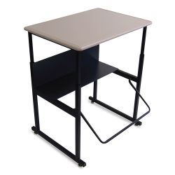 Safco AlphaBetter Stand-Up Desk - Standard Top