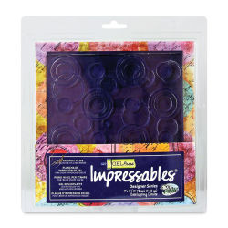 Gel Press Impressables - Overlapping Circles, 7''