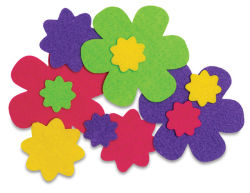 Shapes: Flowers, 36 Pcs