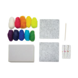 Pretty Twisted Needle Felting Kit - Starter Kit