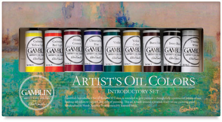 Gamblin Artists' Oil Color - Introductory Set