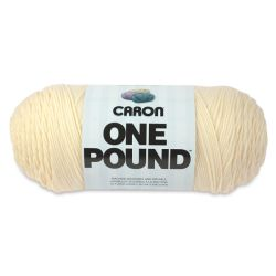 Caron One Pound Acrylic Yarn - 1 lb, 4-Ply, Cream