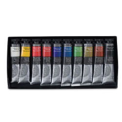 Sennelier Artists' Extra Fine Oil Paint - Set of 10, 21 ml tubes