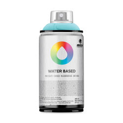 MTN Water Based Spray Paint - Blue Green Light, 300 ml Can