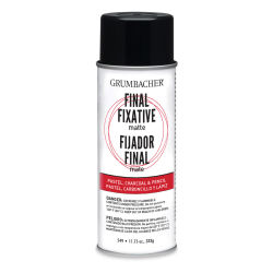 Grumbacher Final Fixative - 11.75 oz, Matte