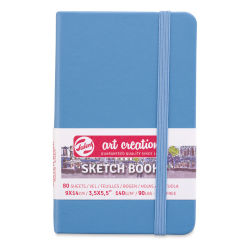 "Talens Art Creations Sketchbook - Lake Blue, 5.5"" x 3.5"""