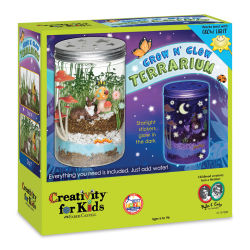 Faber-Castell Creativity for Kids Garden - Grow 'n Glow Terrarium