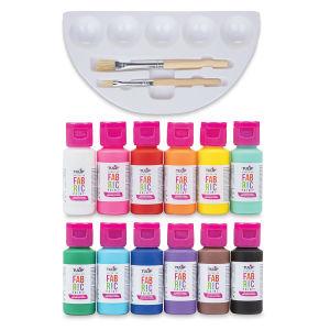 Fabric Paint Brush Set