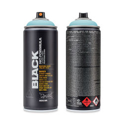 Montana Black Spray Paint - True Cyan 50%, 400 ml can