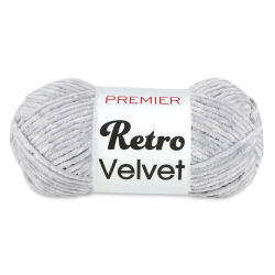 Premier Retro Velvet Yarn - Light Grey
