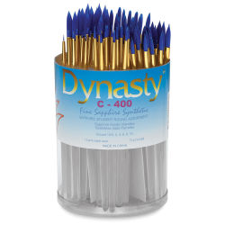 Dynasty Fine Sapphire Synthetic Brush Set - Round, Set of 72