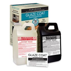 Famowood Glaze Coat - Clear Epoxy Kit, Gallon