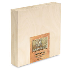 American Easel Wood Painting Panel - 8'' x 8'' x 1-5/8'', Deep Panel