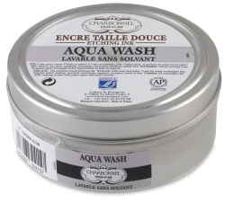 Charbonnel Aqua Wash Etching Ink - Black 55981, 150 ml