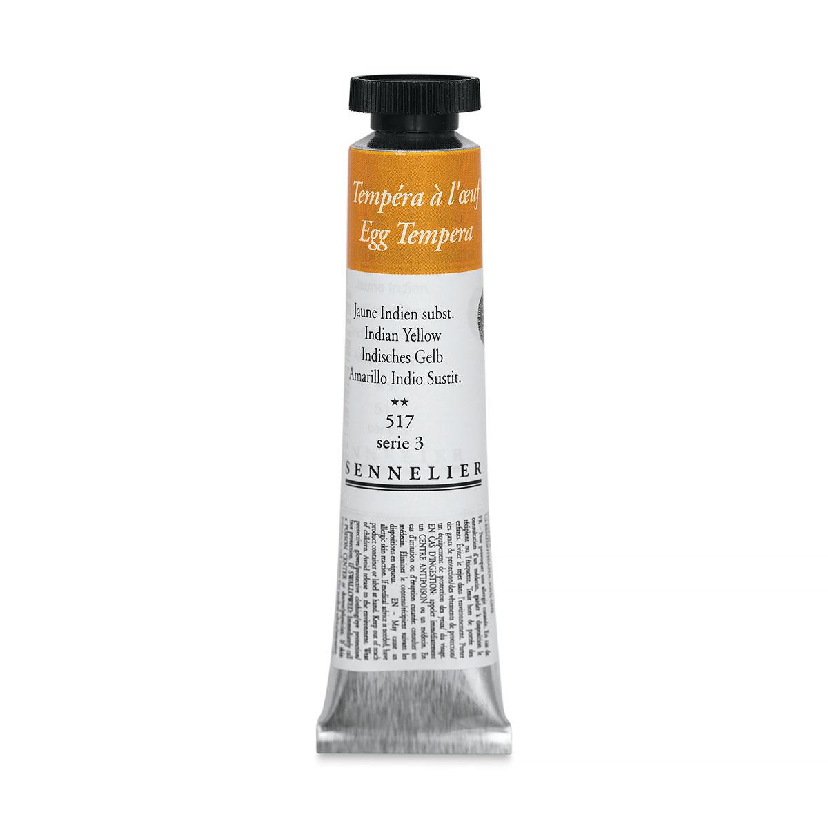 Sennelier Artists Egg Tempera - Indian Yellow, 21 ml tube