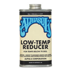 Alpha6 Alphasol Temp Reducer - Low-Temp Reducer, Clear, 8 oz, Can