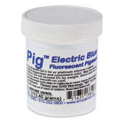 Smooth-On Silc Pig Silicone Color Pigment - Electric Blue, 4 oz