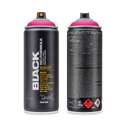 Montana Black Spray Paint - True Magenta, 400 ml can